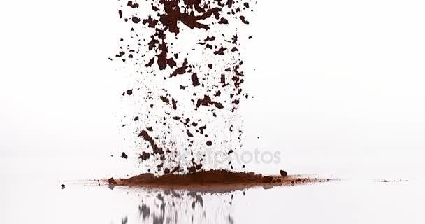 Čokoládový prášek pádu