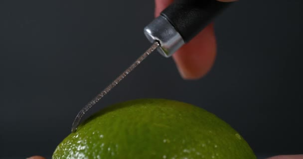 Zelená citronovou kůru