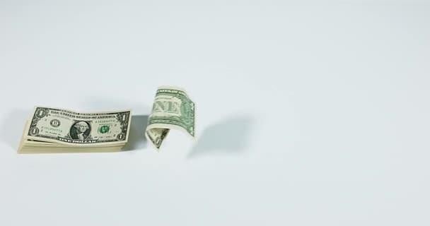 1 létající dolarové bankovky