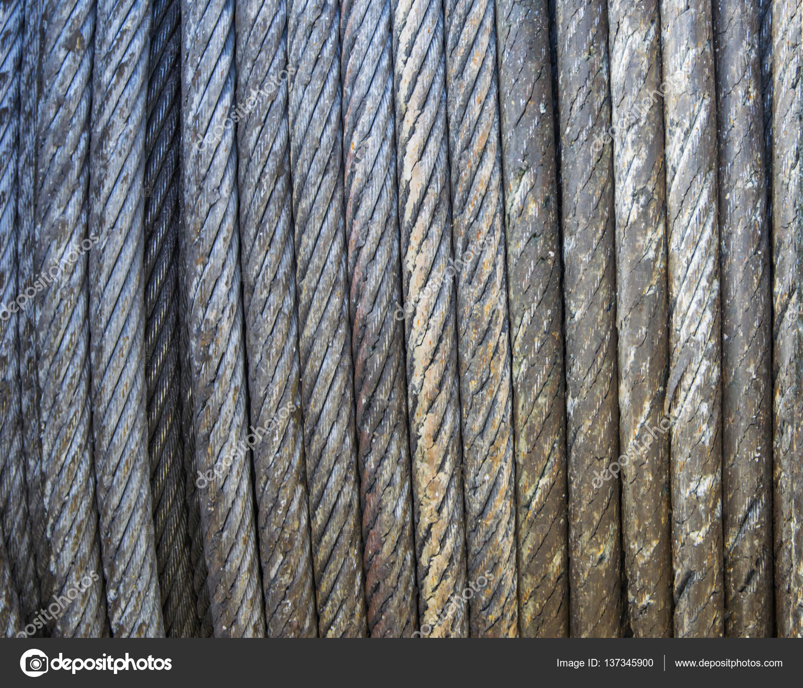 Wire rope texture - heavy duty steel wire cable or rope as ...