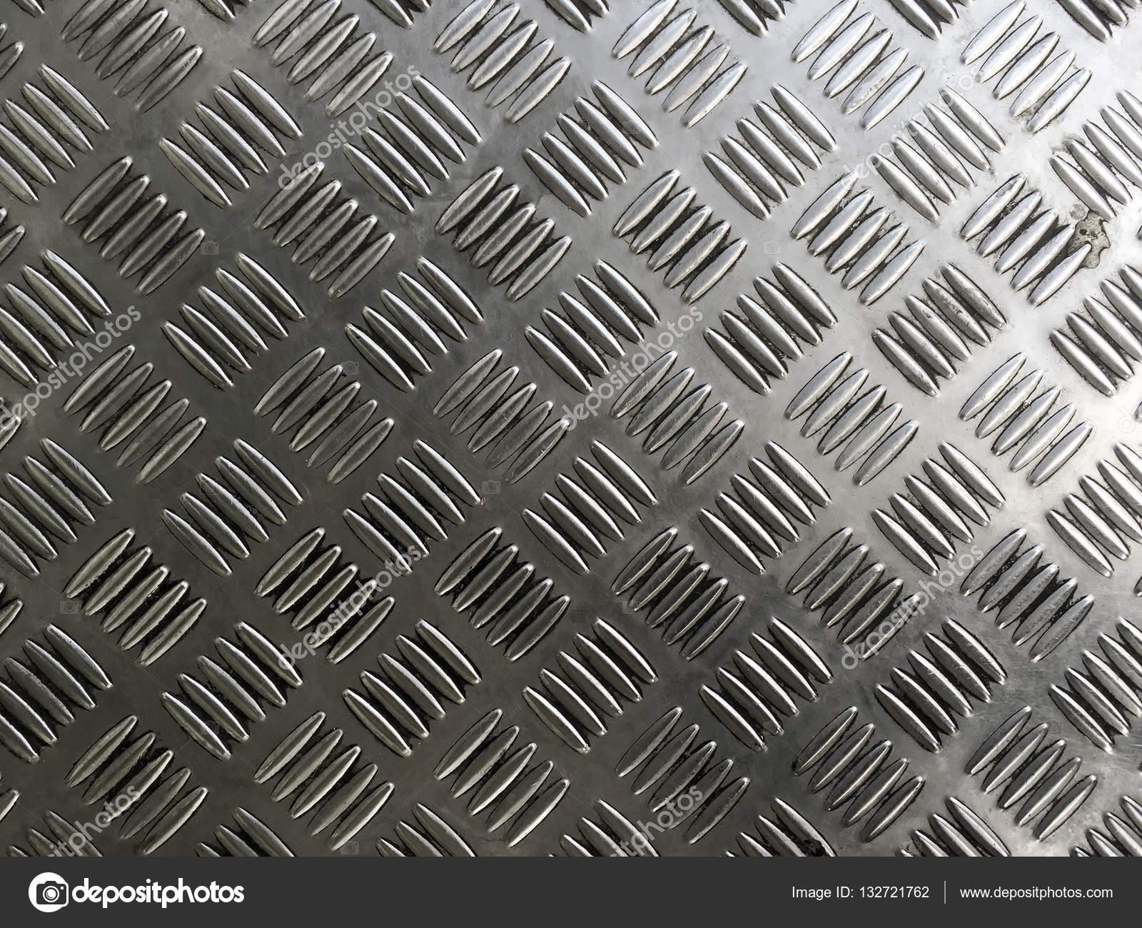 Anti Slip Tegels : Metalen plaat tegels van de vloer met anti slip textuur