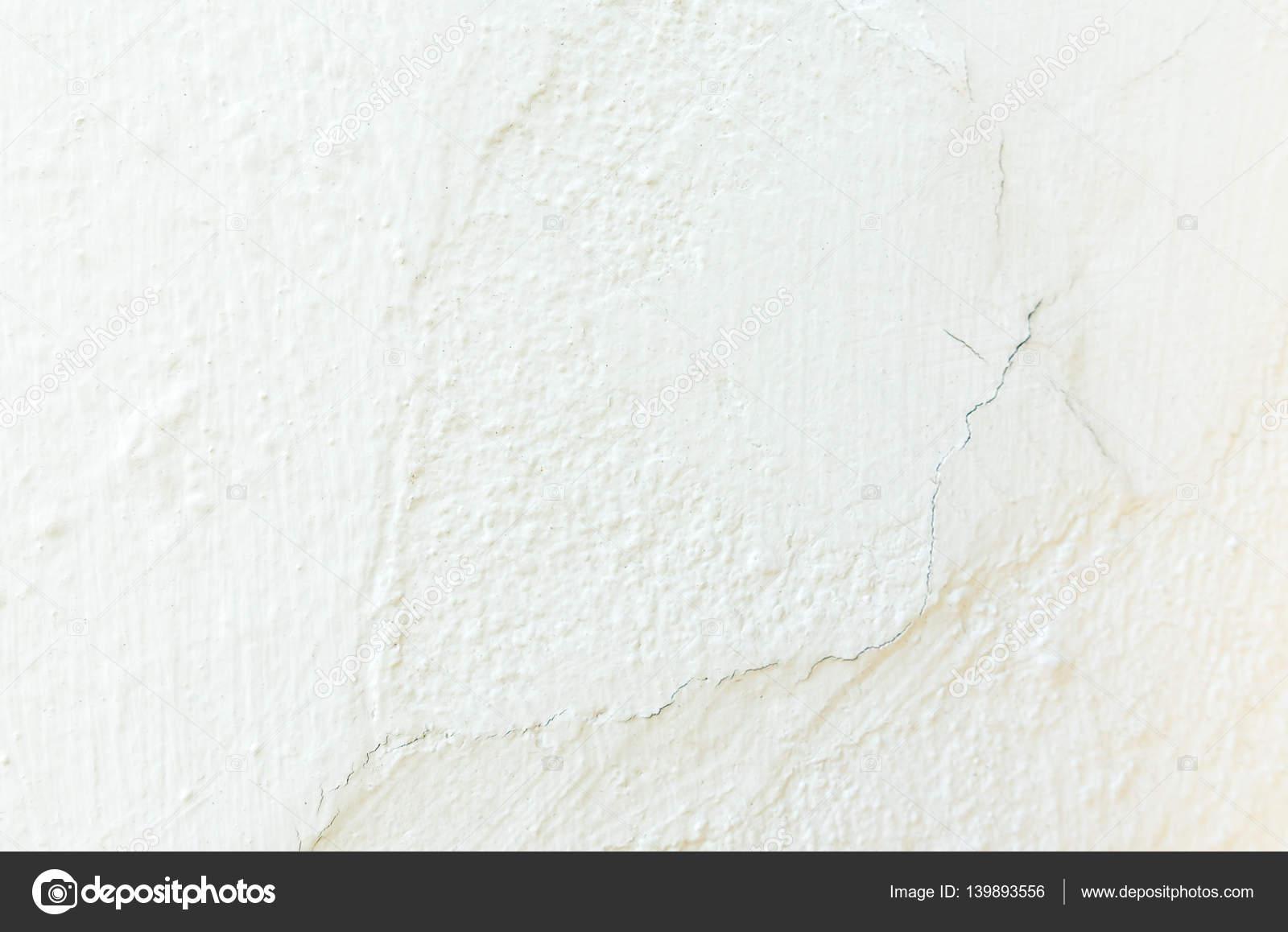 Peinture De Mur De Plâtre Béton Blanc De Craquage Photographie