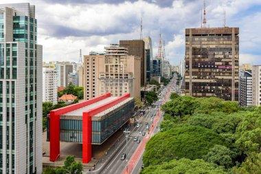 Paulista avenue, financial center of Sao Paulo
