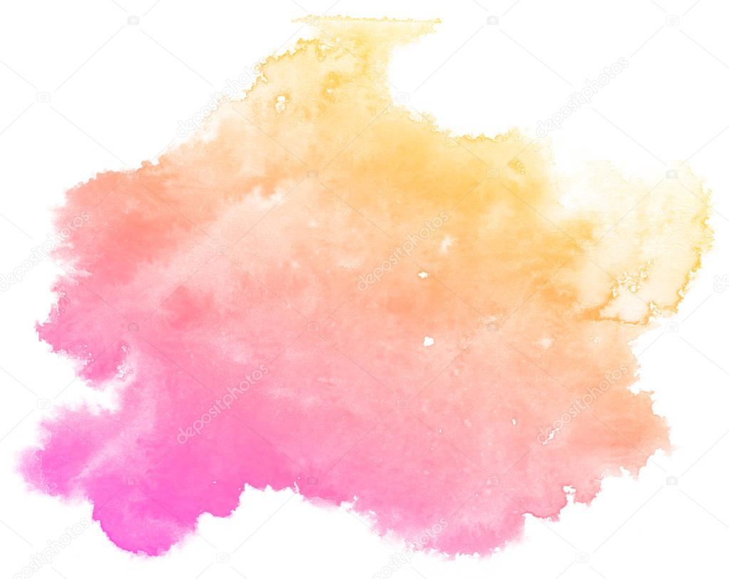 Abstract pink watercolor background. — Stock Photo