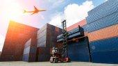 Pro nákladní kontejner nákladní loď pro Import/Export logistické koncepce
