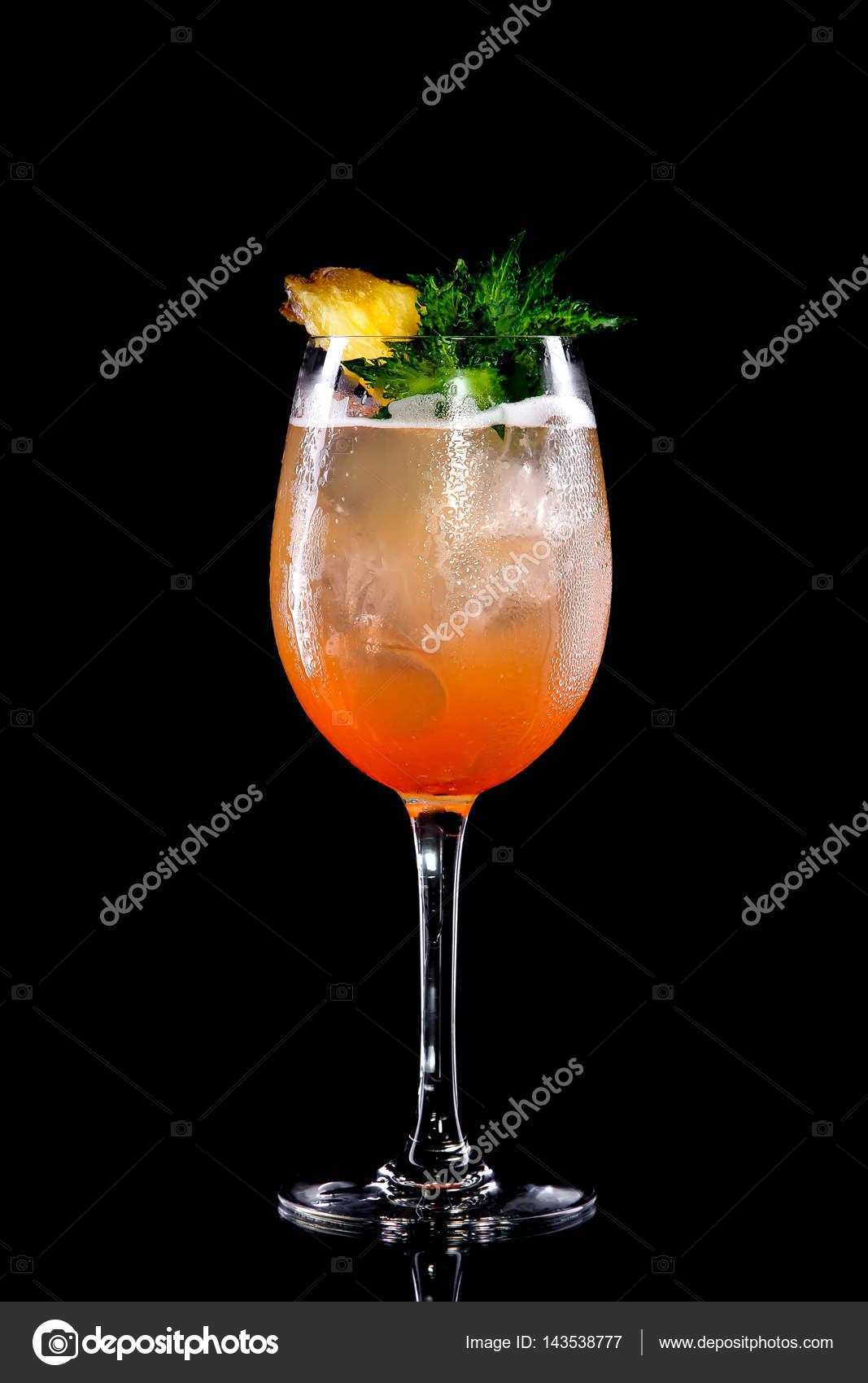 bebidas de naranja sin alcohol