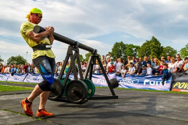 First round of the strongman Cup of Ukraine took place in Storoz