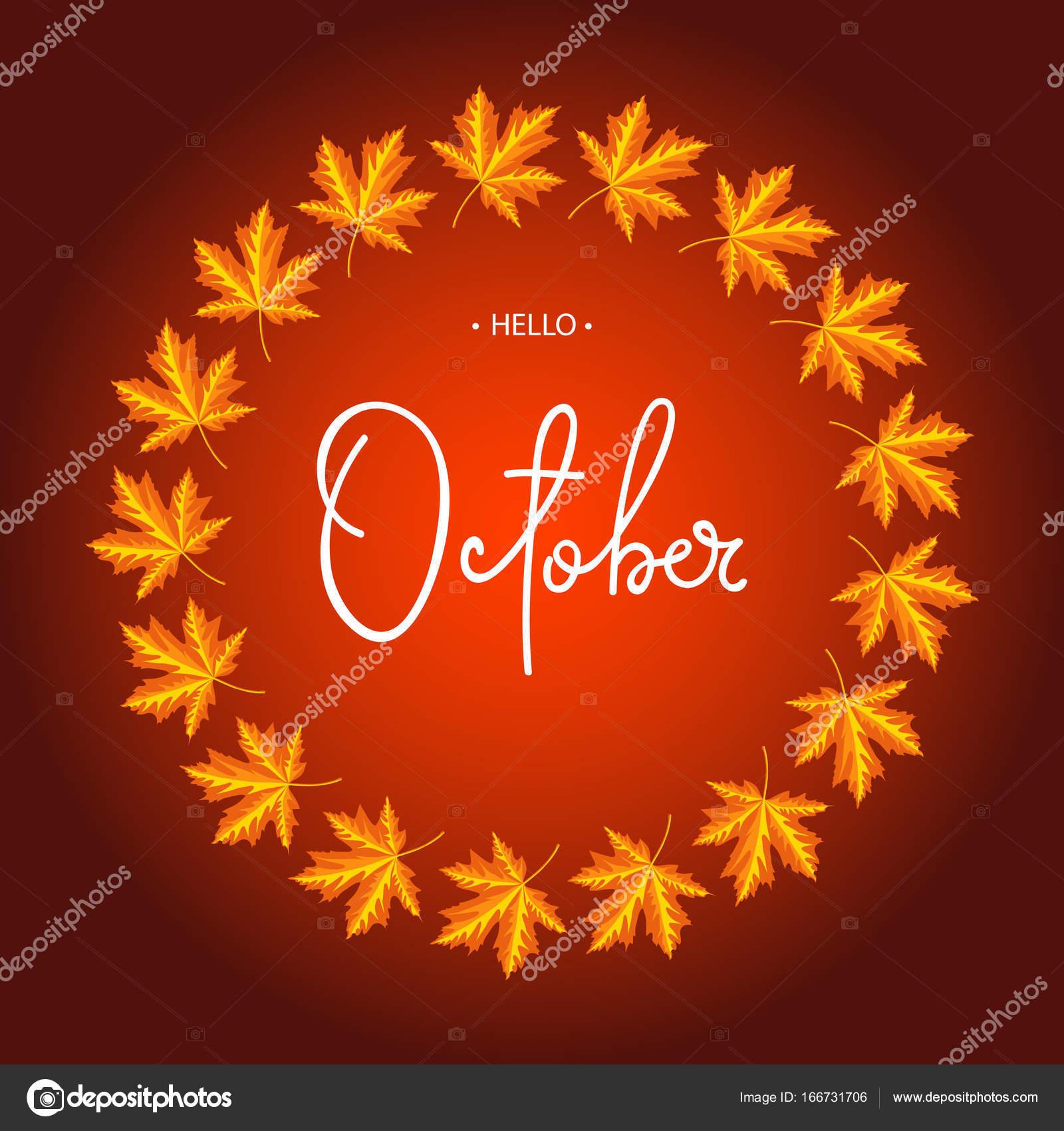 Hello October! @rongrong_devoe_illustration| Be Inspirational ...