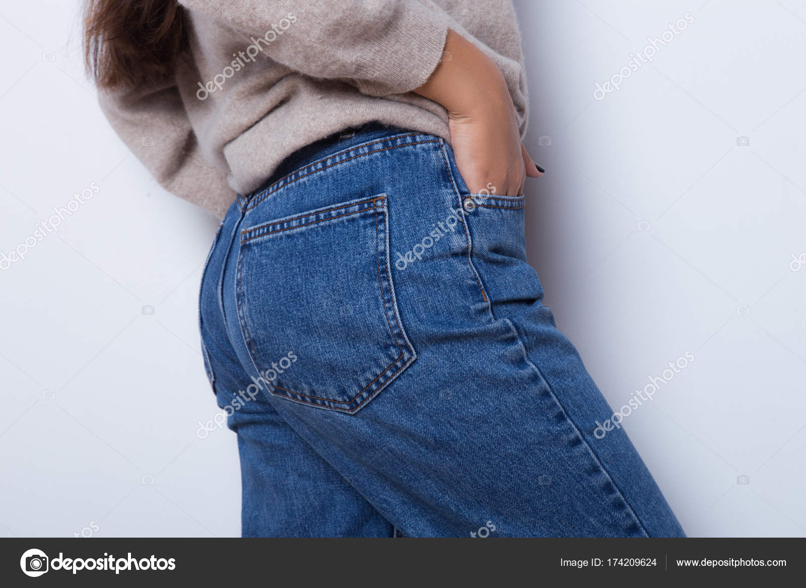 Фото попок в джинсах девушек — img 8