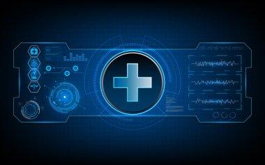 Medical health care background