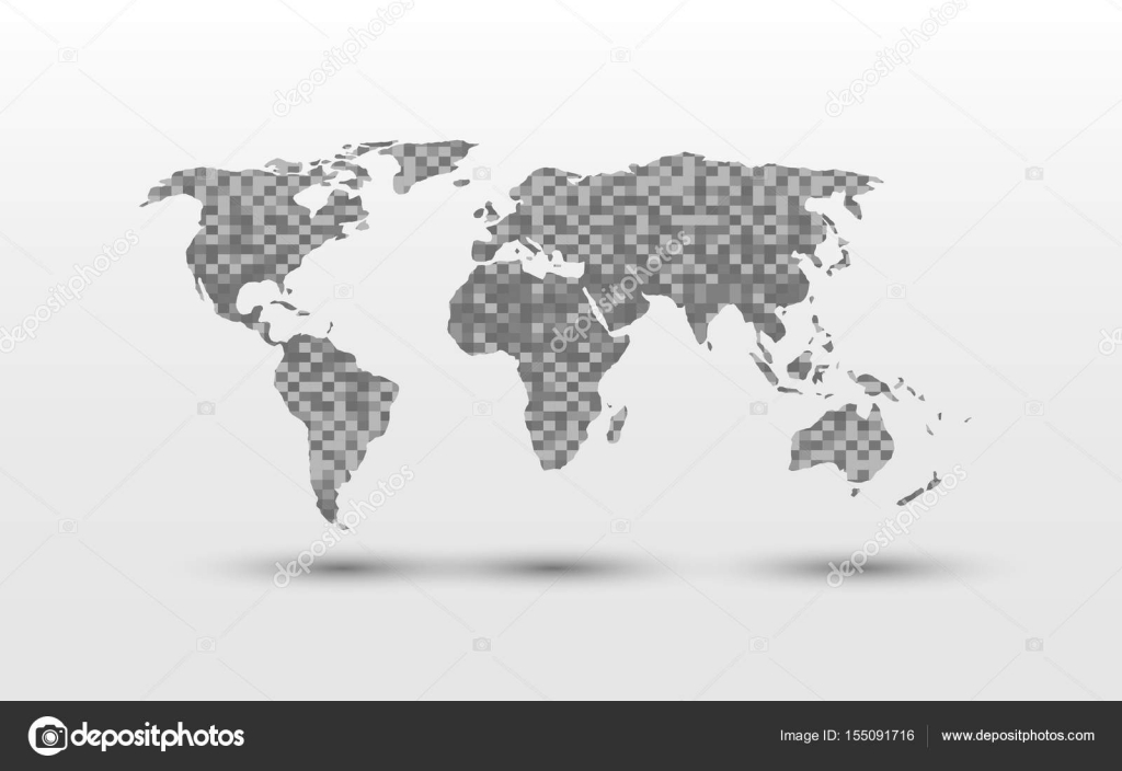 World map pixel stock vector pixtumzhotmail 155091716 vector illustration design of world map pixel rectangle cube block on white background vector by pixtumzhotmail gumiabroncs Image collections