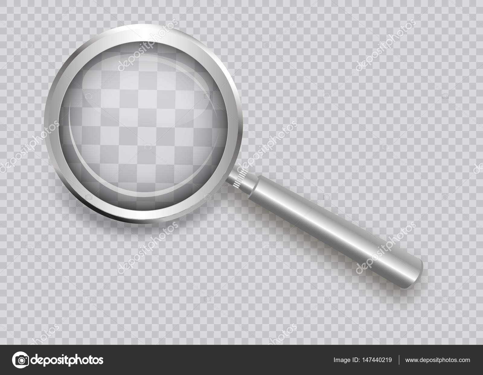 depositphotos_147440219-stock-illustration-magnifying-glass-isolated-on-a Faszinierend Lupe Mit Licht Dekorationen