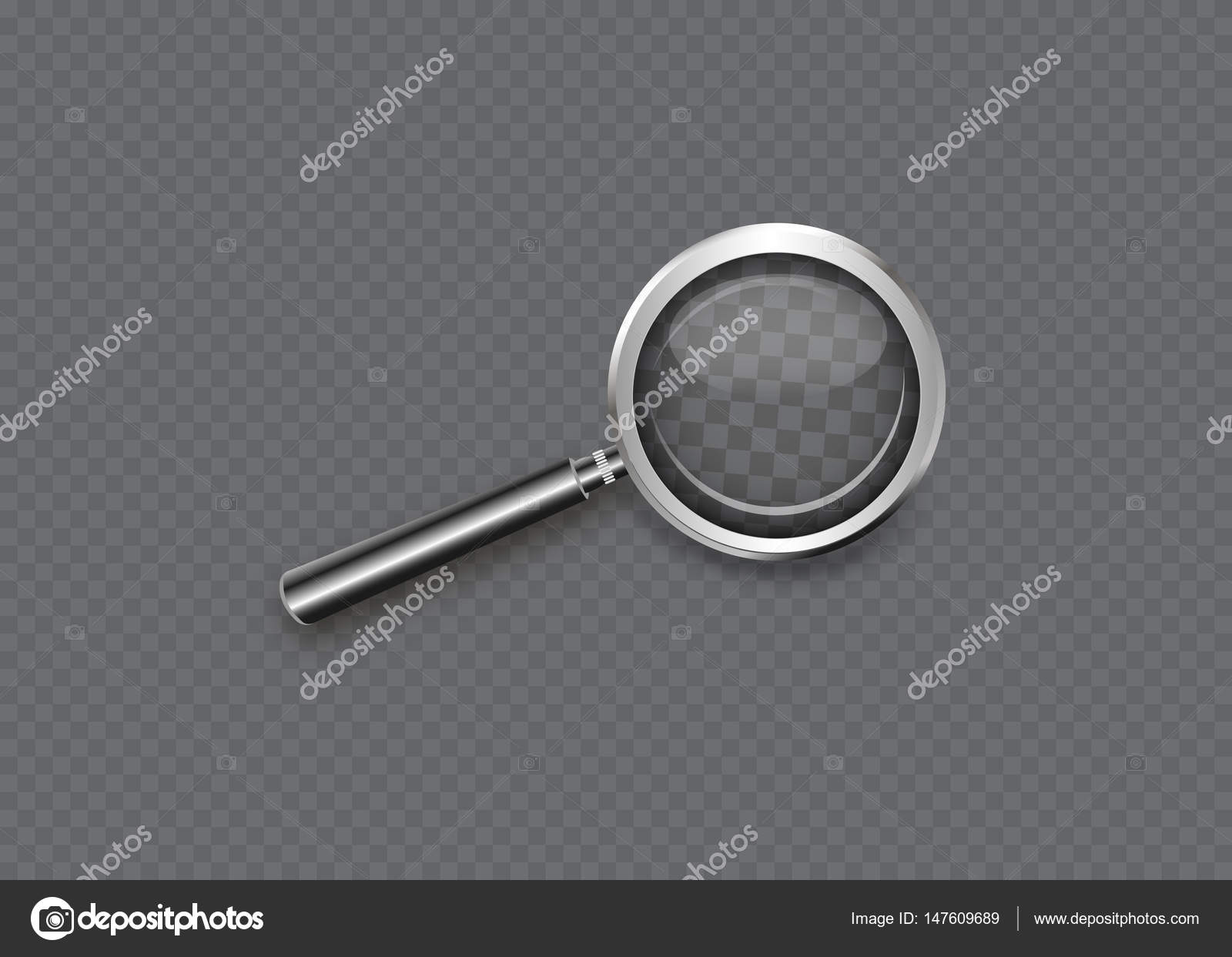 depositphotos_147609689-stock-illustration-magnifying-glass-isolated-on-a Faszinierend Lupe Mit Licht Dekorationen