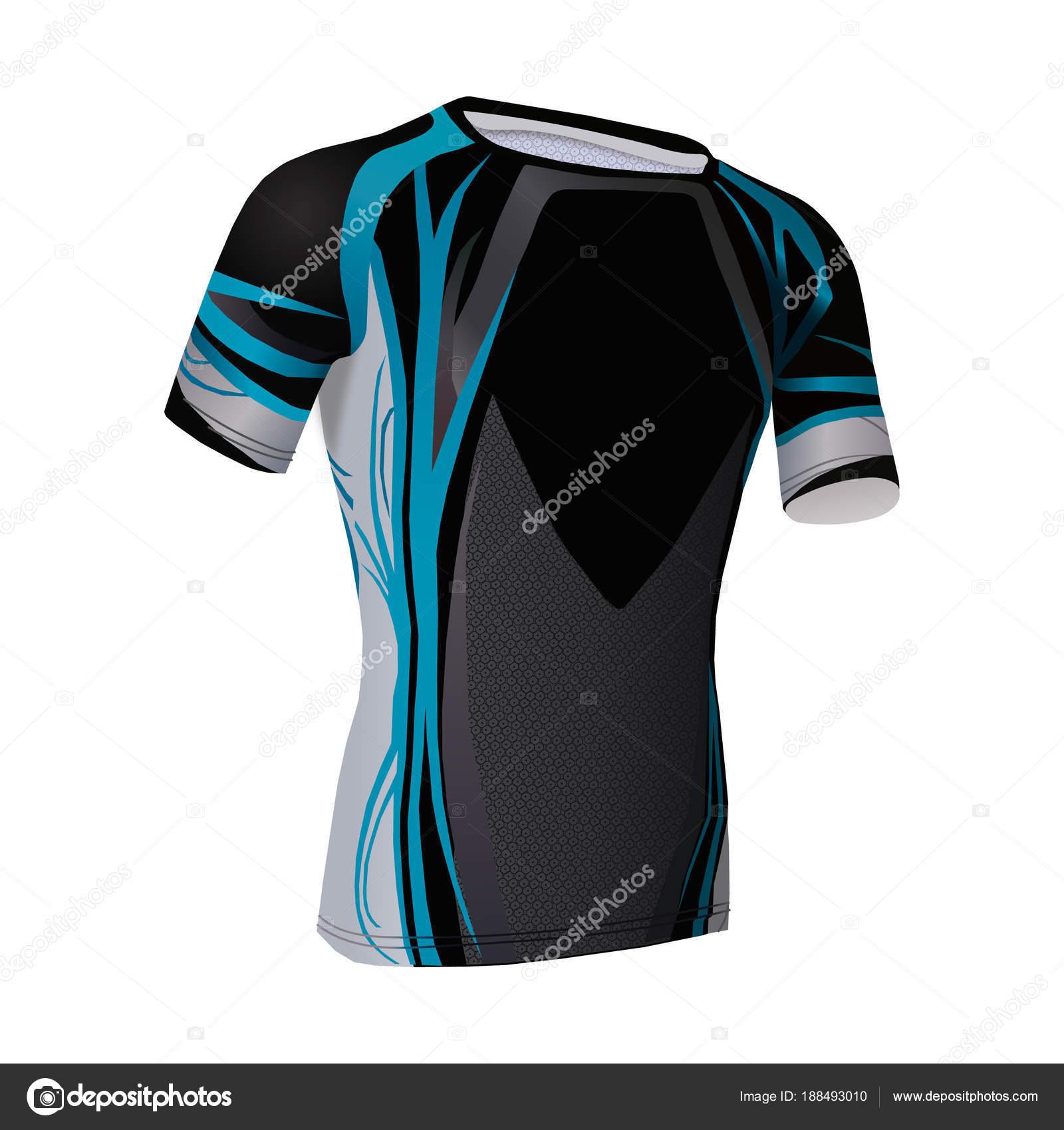 Plantilla de camiseta de fútbol. Mock up uniforme para fútbol club ...