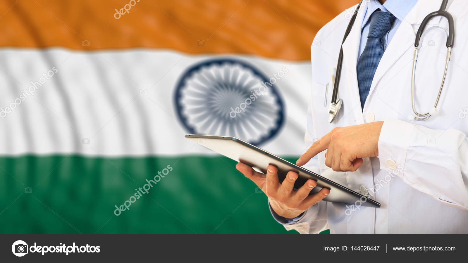 Doctor On Flag Of India Background 3d Illustration Photo By Gioiak2 Find Similar Images