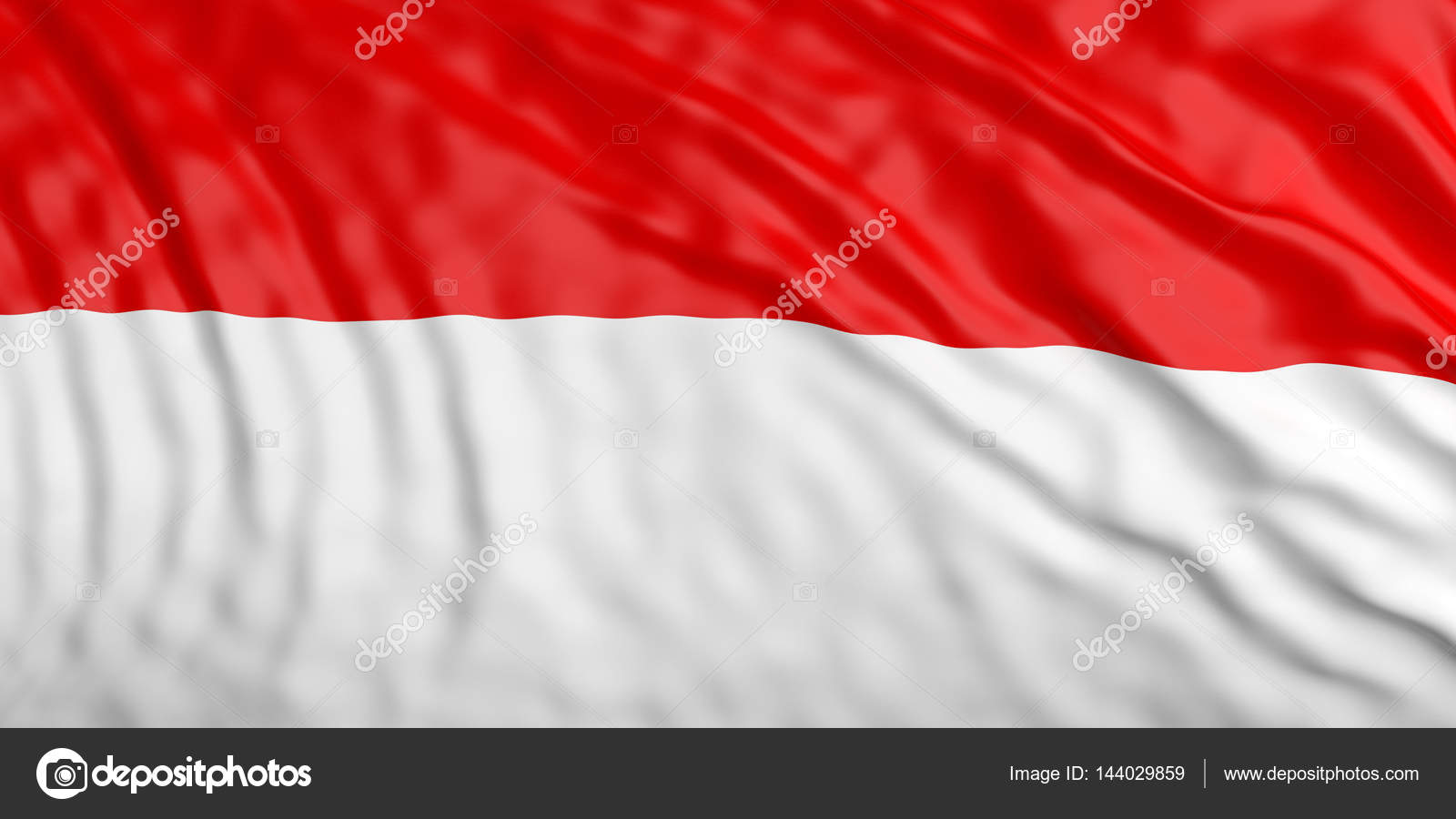 waiving indonesia flag 3d illustration stock photo gioiak2