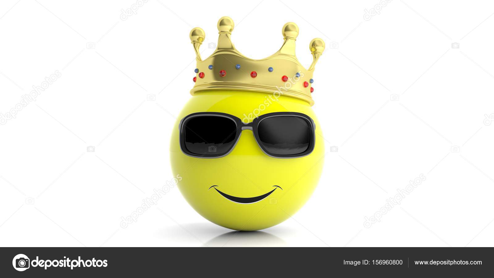 Golden crown on a yellow emoji white background 3d illustration yellow emoticon with golden crown isolated on white background 3d illustration photo by gioiak2 biocorpaavc Gallery