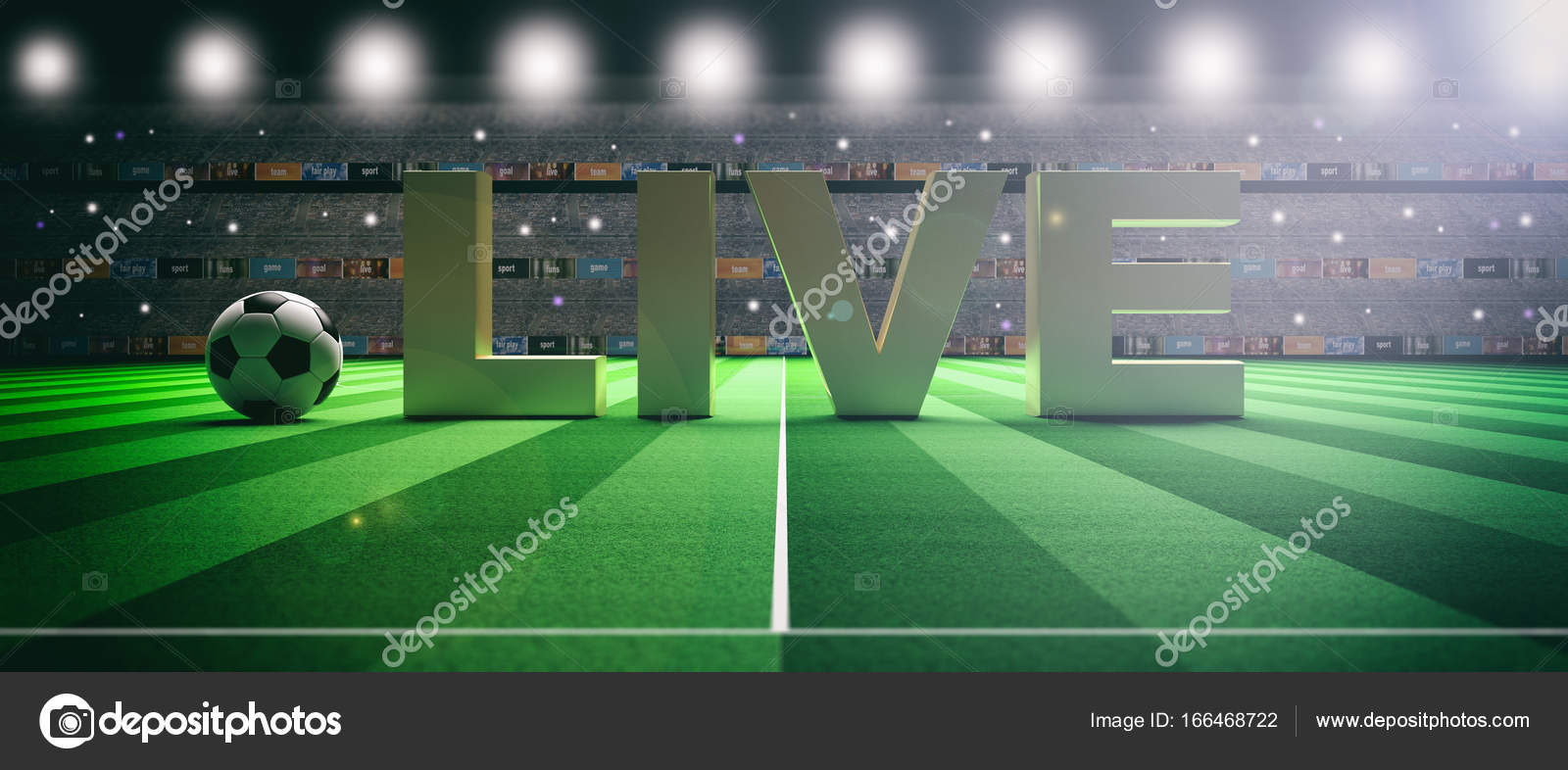 Image result for live soccer football field