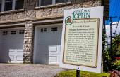 Die historische Garagenwohnung von Bonnie und Clyde. Joplin, Missouri, USA.