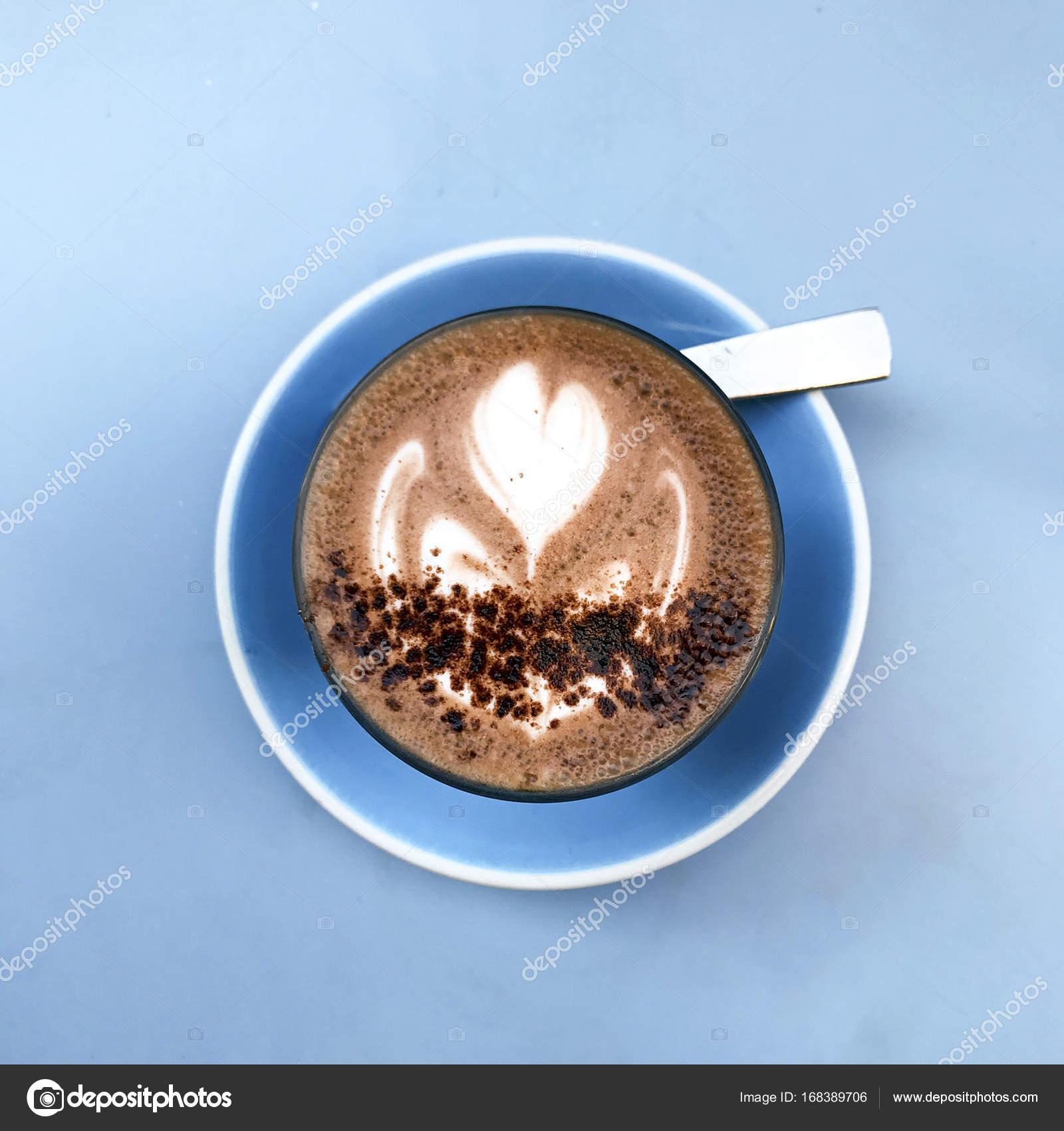 Fancy Beautiful Hot Chocolate Design Stock Photo C Cabecademarmore