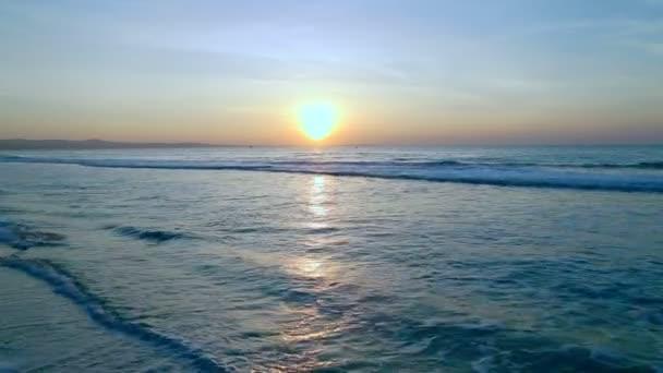 Alba di orizzonte di mare migliore girato video