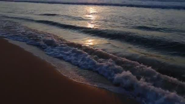 Meereshorizont Sonnenaufgang titling up.