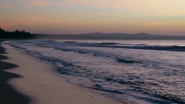 Seashore posouvání doprava písečná pláž