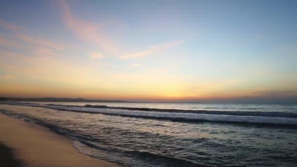 Seashore sunset beautiful sky.