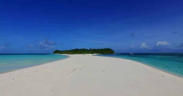Sand path leading to island. Summer scene at Gili Trawangan, Indonesia.