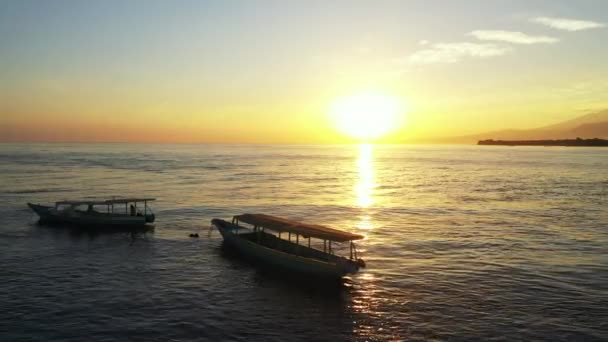 Magnetic sunset at the seaside. Summer journey to Thailand.