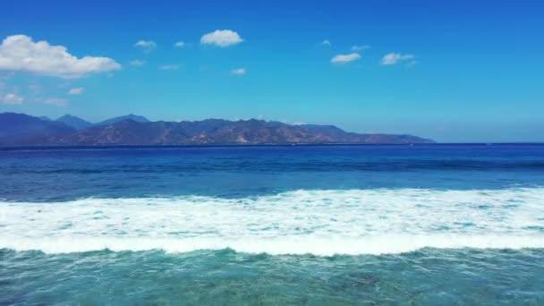 Scenic marine daytime. Idyllic nature of Indonesia.