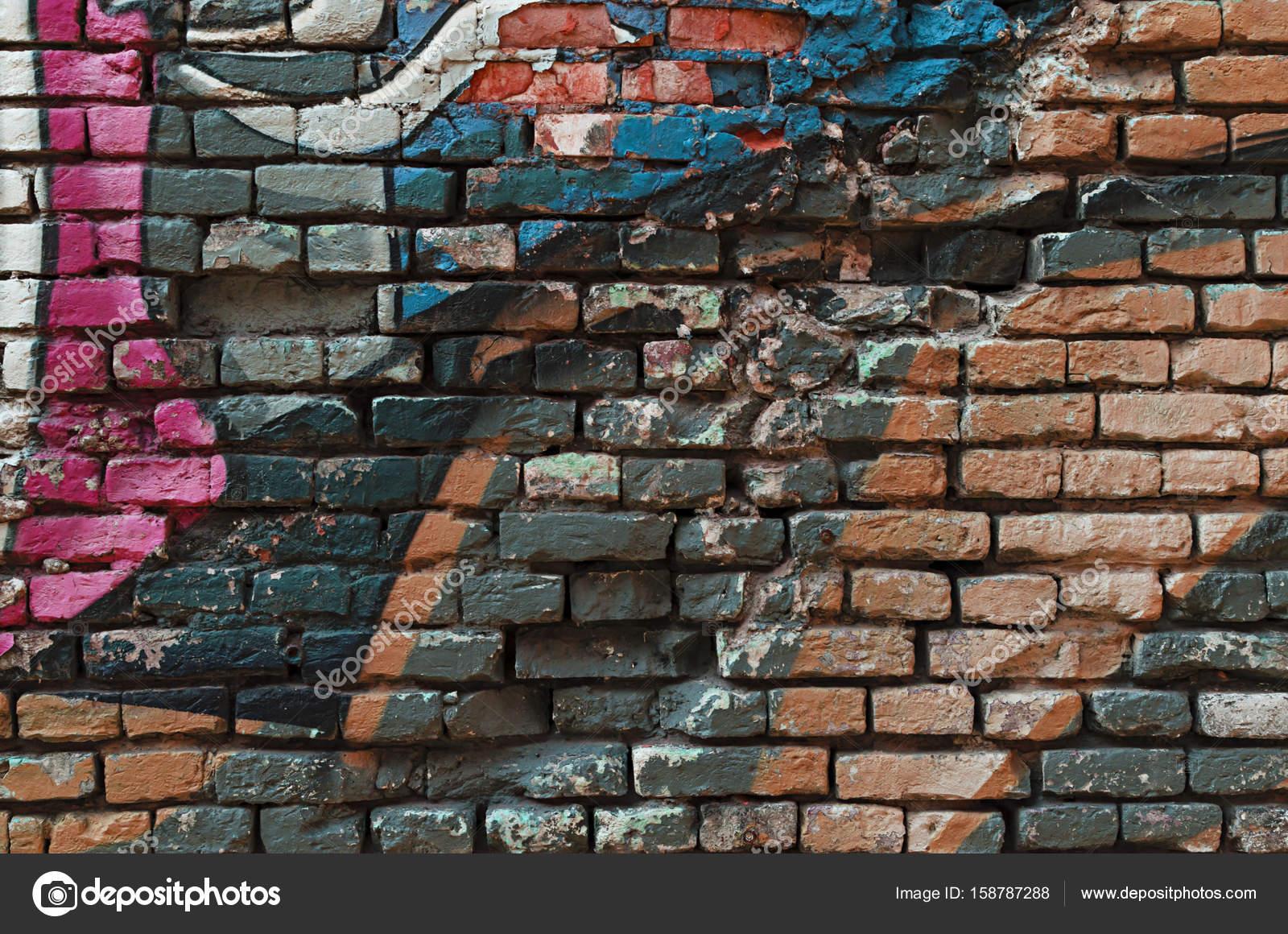 Grunge Graffiti Grunge Graffiti Brick Wall Background Texture