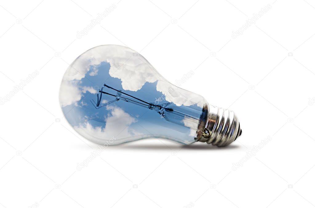 An metaphoric image about creativity