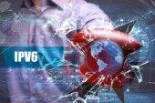 Fotografie Wirtschaft, Technologie, Internet und Netzwerk-Sicherheit. IPv6