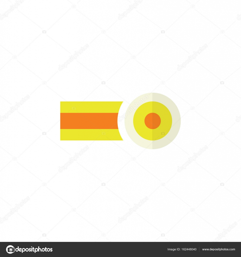 Isolated Oxygen Flat Icon Chemical Vector Element Can Be Used For