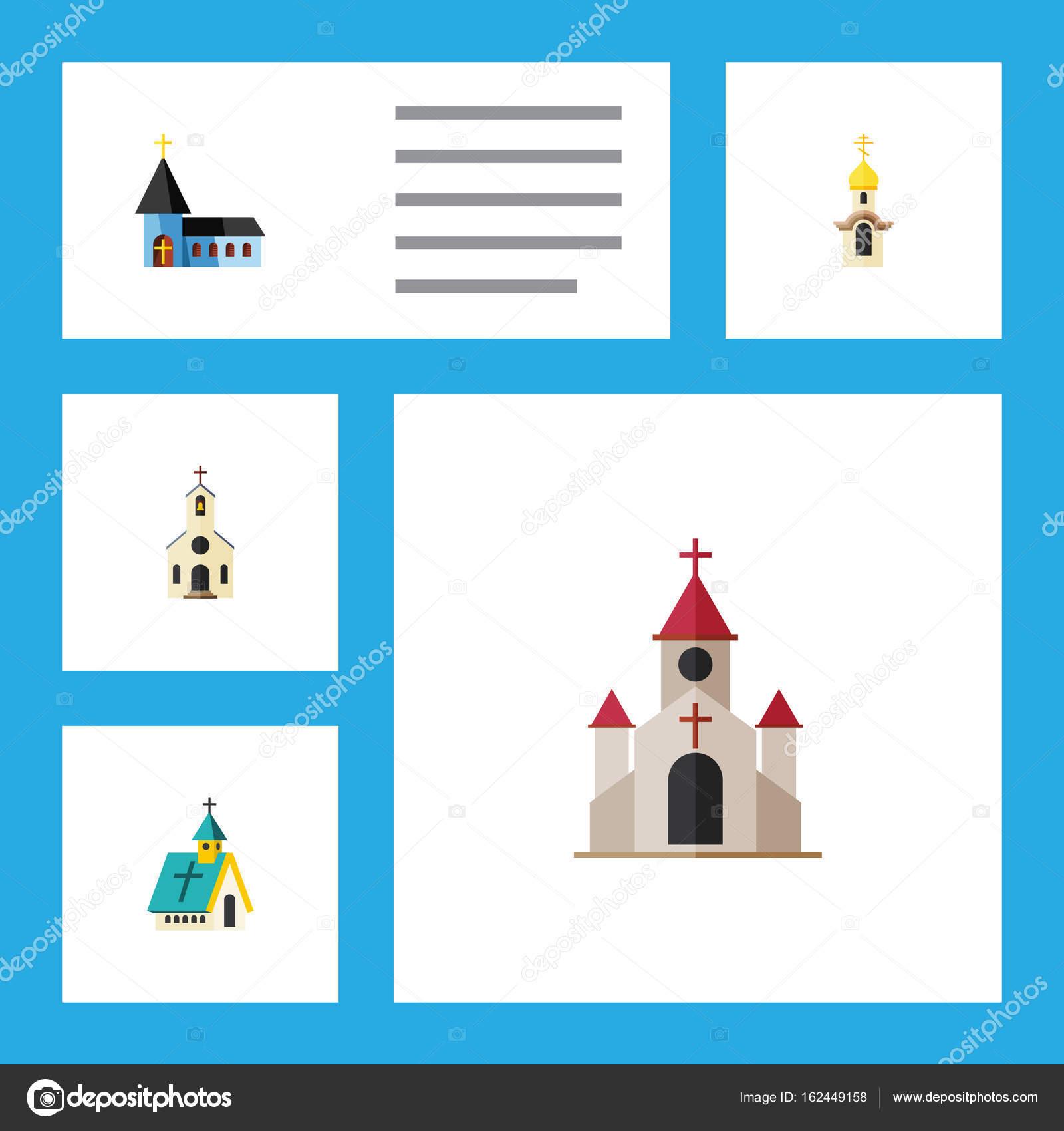 Edificio icono de plano conjunto del edificio, arquitectura ...