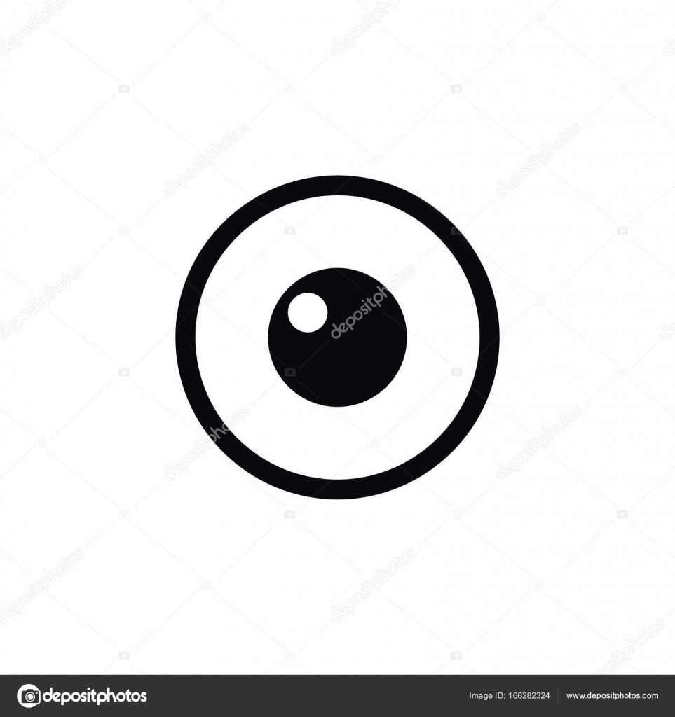 Isolated Eye Icon Look Vector Element Can Be Used For Eye Look