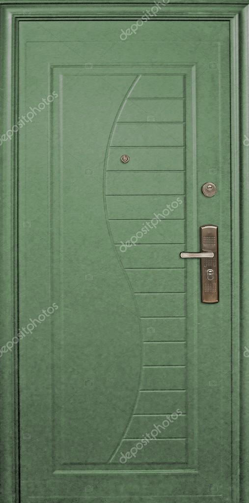 Außentür Metall — Stockfoto © Prokrida #125738514