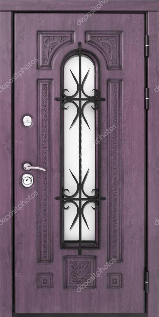 Superbe Puerta Metálica Exterior U2014 Fotos De Stock