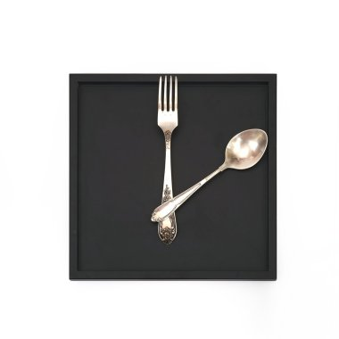 The clock for the kitchen