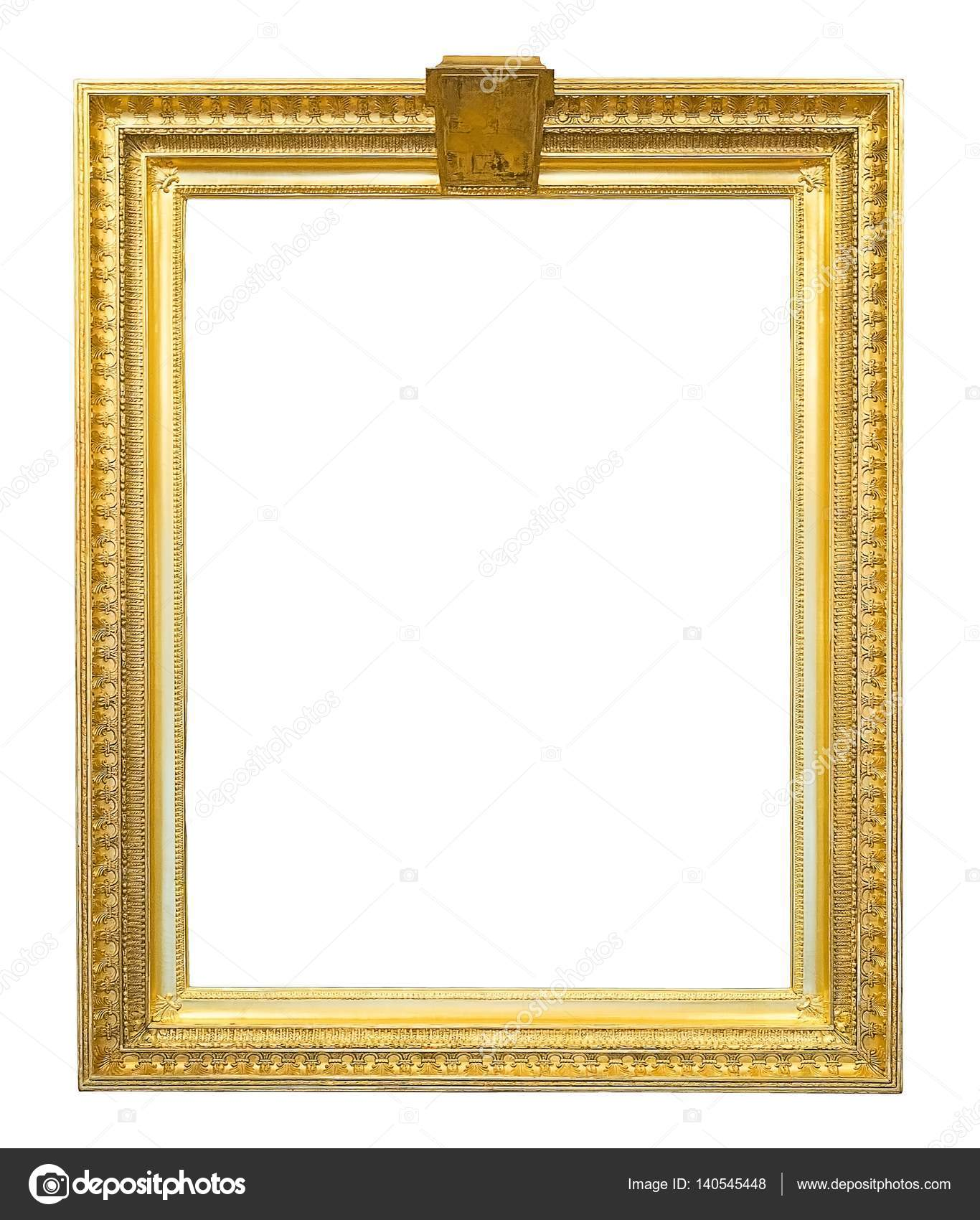 Goldene Bilderrahmen — Stockfoto © Prokrida #140545448