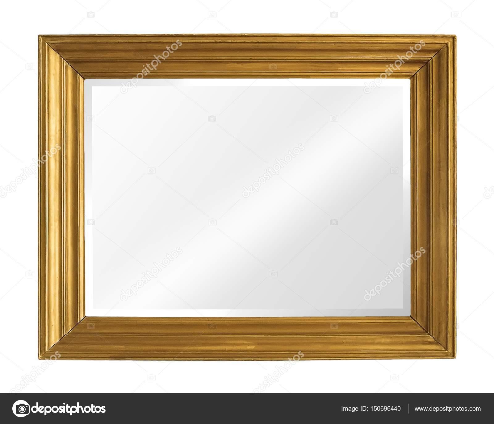 Vergoldeter Spiegel aus Holz — Stockfoto © Prokrida #150696440