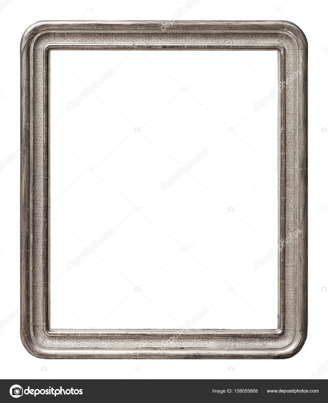 Cornice per quadri, specchi o foto su priorità bassa bianca — Foto ...