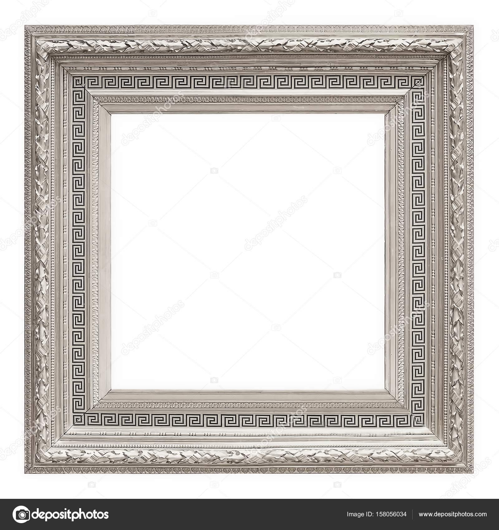 Marco para cuadros, espejos o fotografías en fondo blanco — Fotos de ...