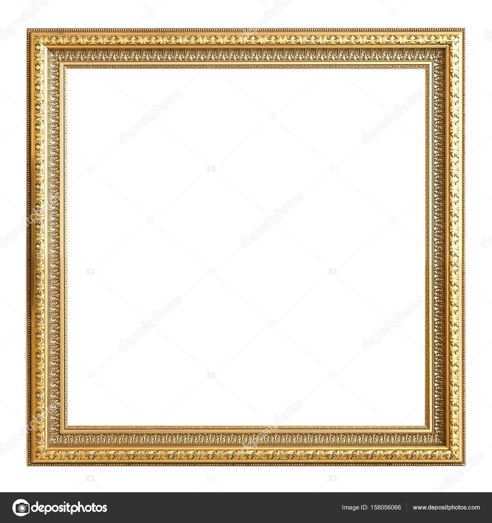 Rahmen für Bilder, Spiegel oder Fotos auf weißem Hintergrund ...