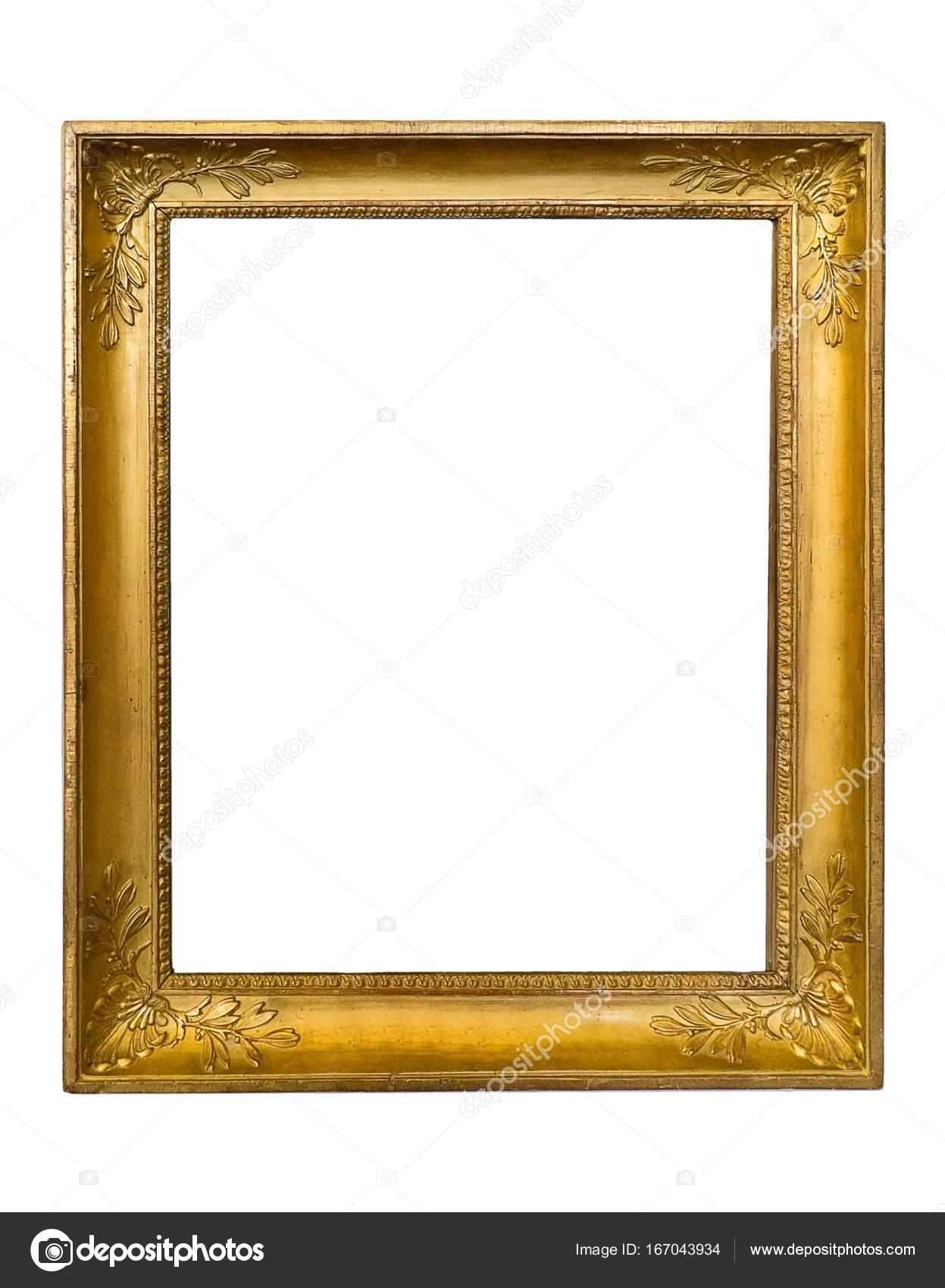 cadre dor pour les peintures les miroirs ou les photos photographie prokrida 167043934. Black Bedroom Furniture Sets. Home Design Ideas