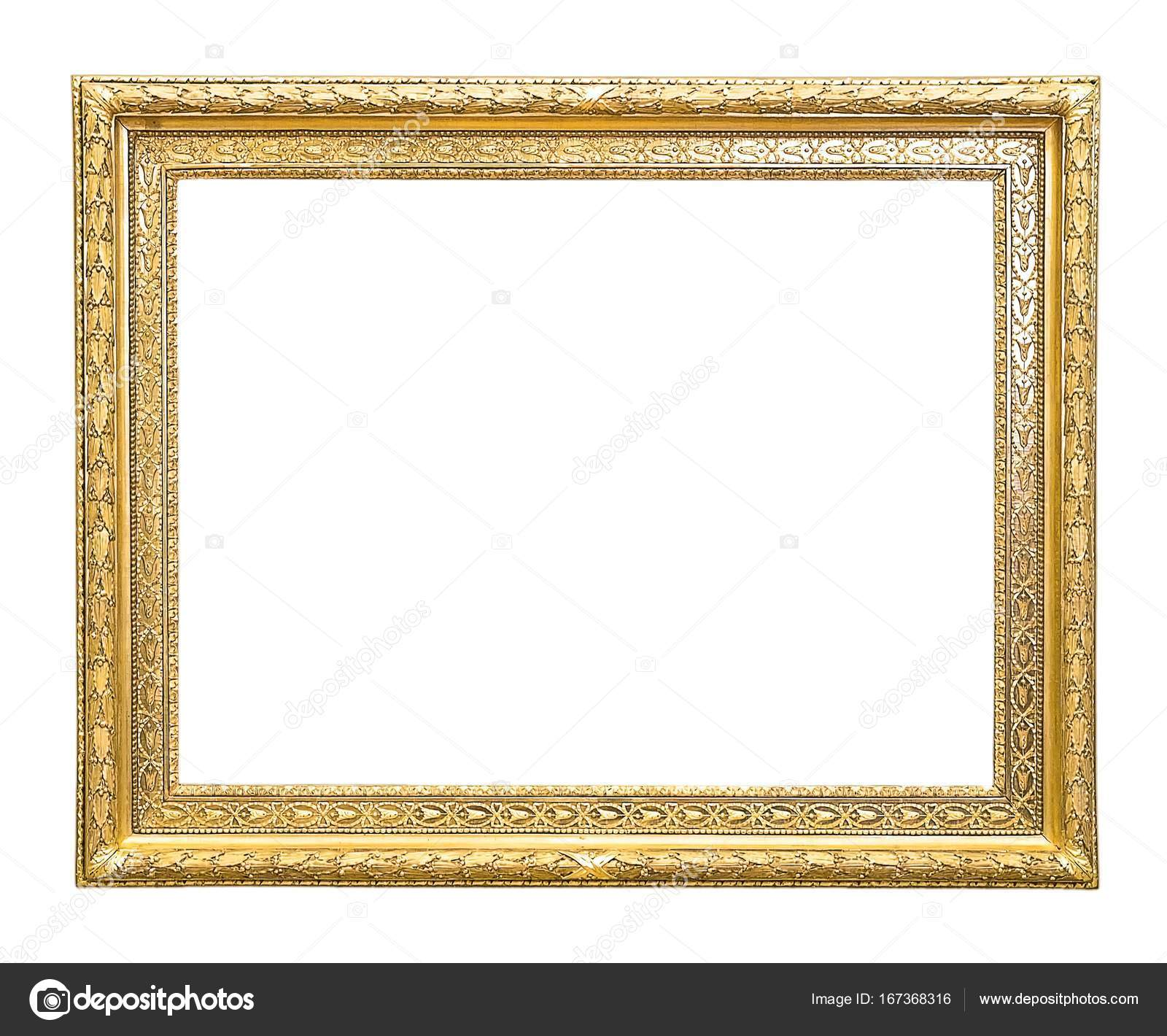 позолоченная деревянная рамка для картины стоковое фото Prokrida