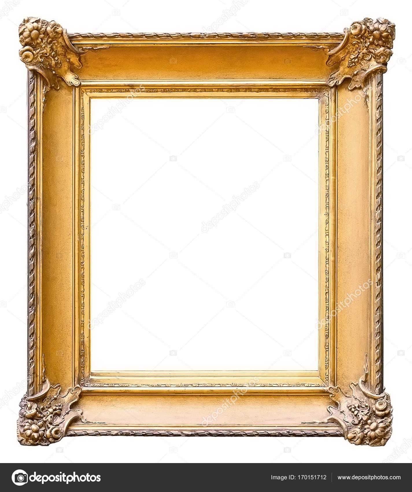 Oro marco para cuadros, espejos o fotos — Fotos de Stock © Prokrida ...