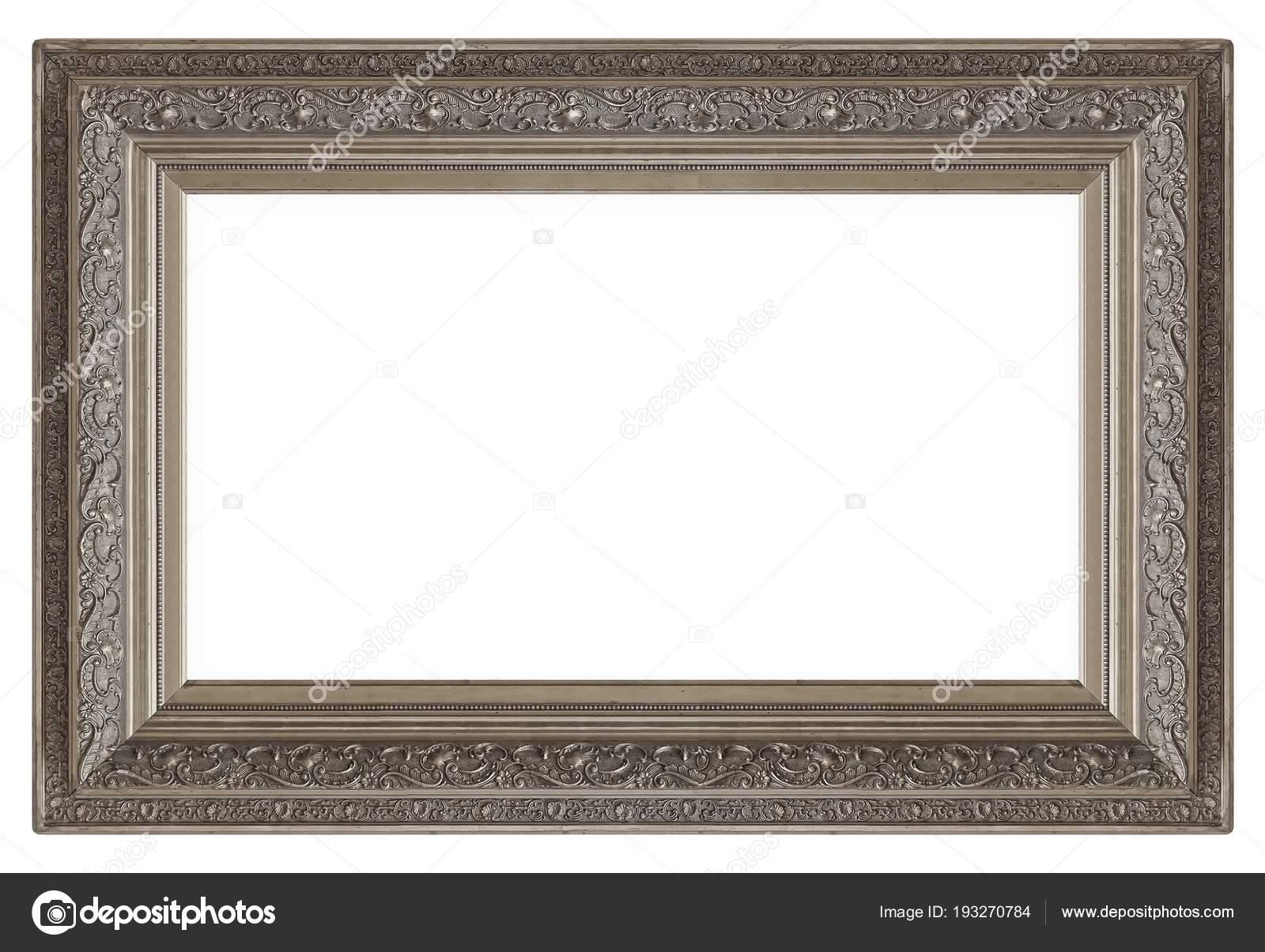 Cornice Argento Quadri Specchi Foto — Foto Stock © Prokrida ...