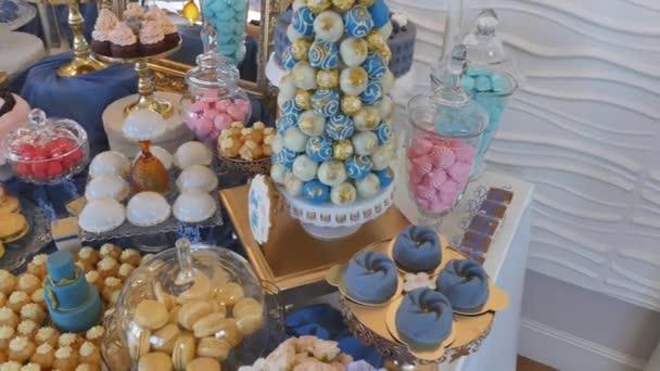 Dovolená sladké tabulky nebo candy bar
